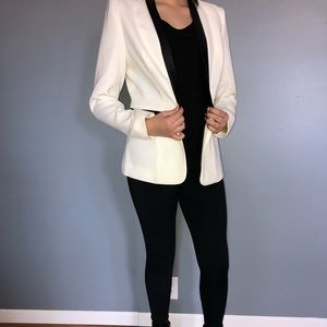 Brand new with tags white and black blazer